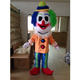happy clown mascot costume