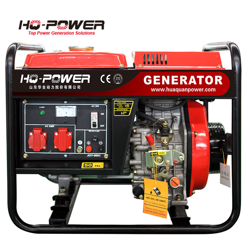 small power plant 220v magnet 3000 watts diesel generator