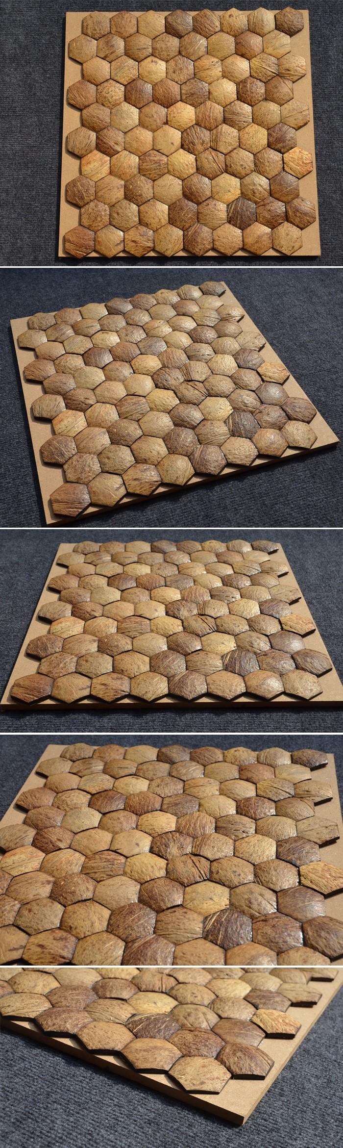 Hssf Lj Abalone Shell Azulejocascara De Coco Baldosasazulejos De - Baldosas-y-azulejos
