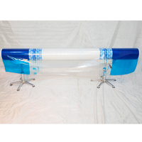 good quality blue pe packaging film printing