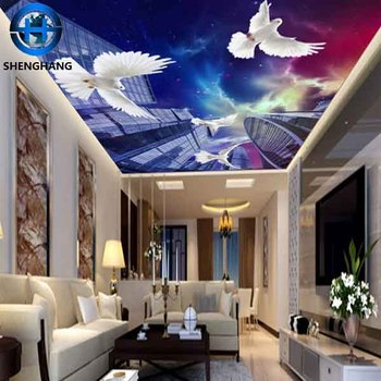 3d Hd Wallpaper For Roof Decoration For Bedroom Ceilings Wallpaper