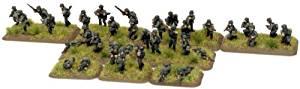 German: Schutzen Infantry Platoon