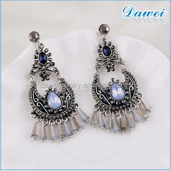Fashion Earring Designs New Model Earrings With Beaded Tel Necklace Product On