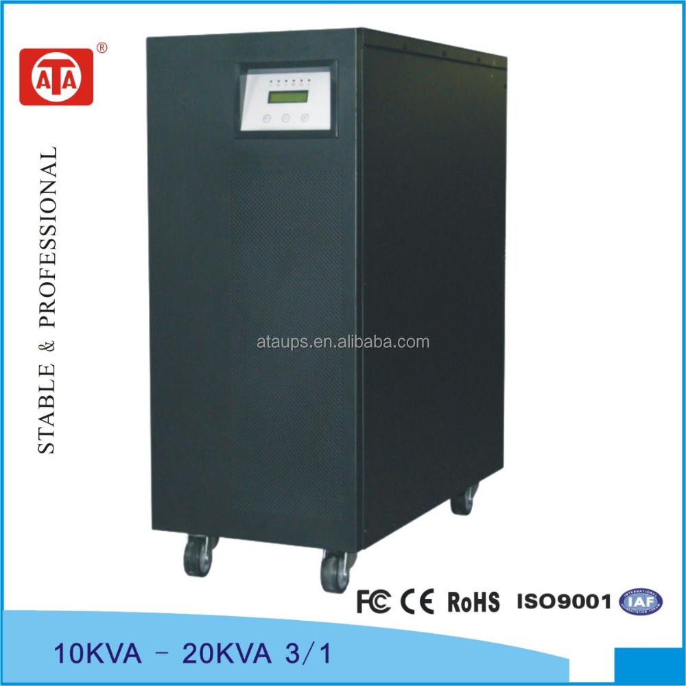 20KVA Medical UPS 3phases in single phase out, low frequency online technology