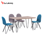 Free Sample Luxury Modern 12 Seater Chair Boat Wood Restaurant Remote Controlled Carven Furniture Dining Table