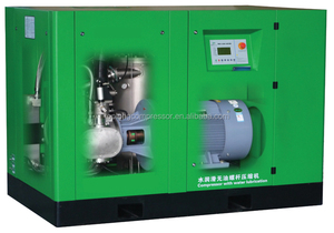 2015 new type Compair totally oil free screw compressor
