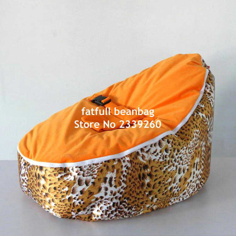 Terrific Cover Only No Fillings Tiger Fur Baby Bean Bag Chair Kids Camellatalisay Diy Chair Ideas Camellatalisaycom