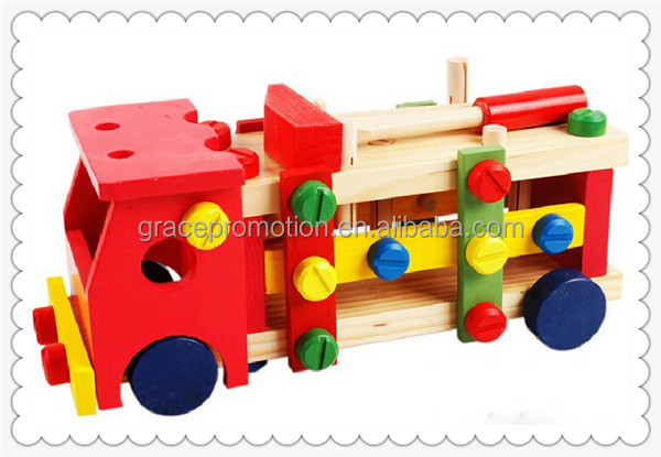 Wholesale Promotional Funny Kids Educational Wooden Toys