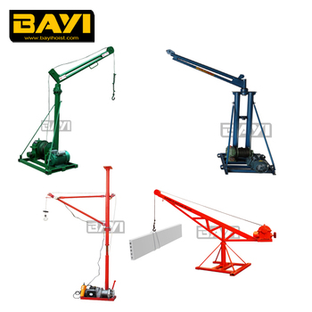 Portable Roof Crane Amp Lifting Explosion Proof