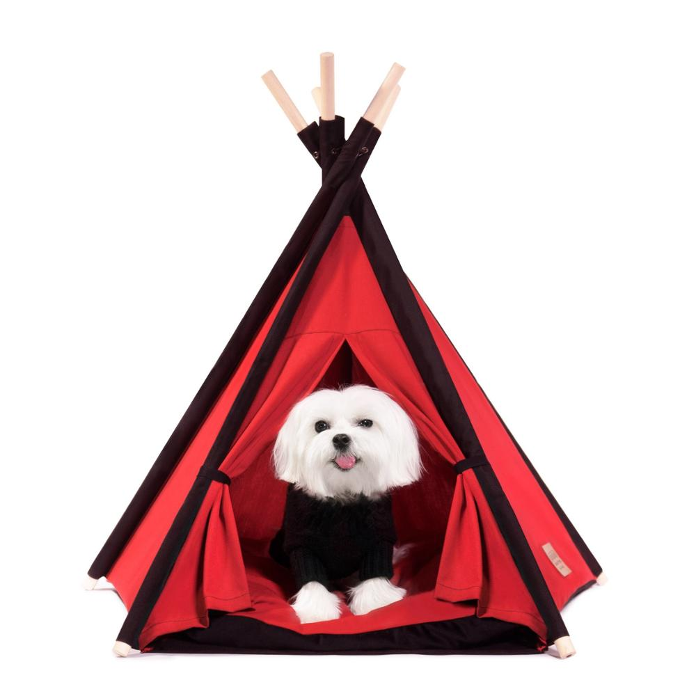 Hot Koop Huisdieren Supplies Pet Bed Tenten Warm Kat Huis Hond Bed