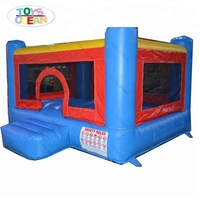 Colourful Mini inflatable Combo Jumping Bounce for kids