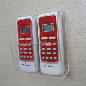 Acrylic Wall Mount Hanging Remote Control Holder For Hotel Buy