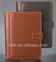 PU leather hardcover notebook printing factory