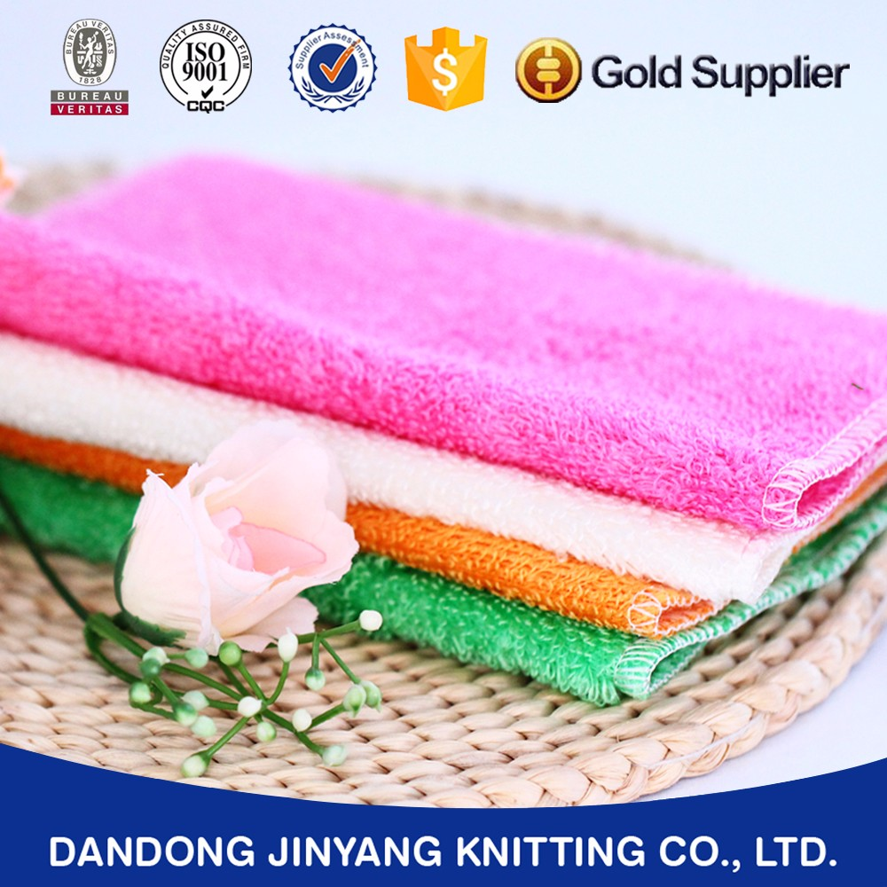 Kitchen Application and 100% rayon logo printed Bamboo Fiber cleaning cloth