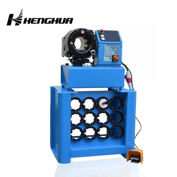 Finn Power With Dies Table 1/4''-2 5'' Portable Hose Crimping Machine For  Rubber Air Suspension Car Parts Repair - Buy Hose Press Machine,Steel Pipe