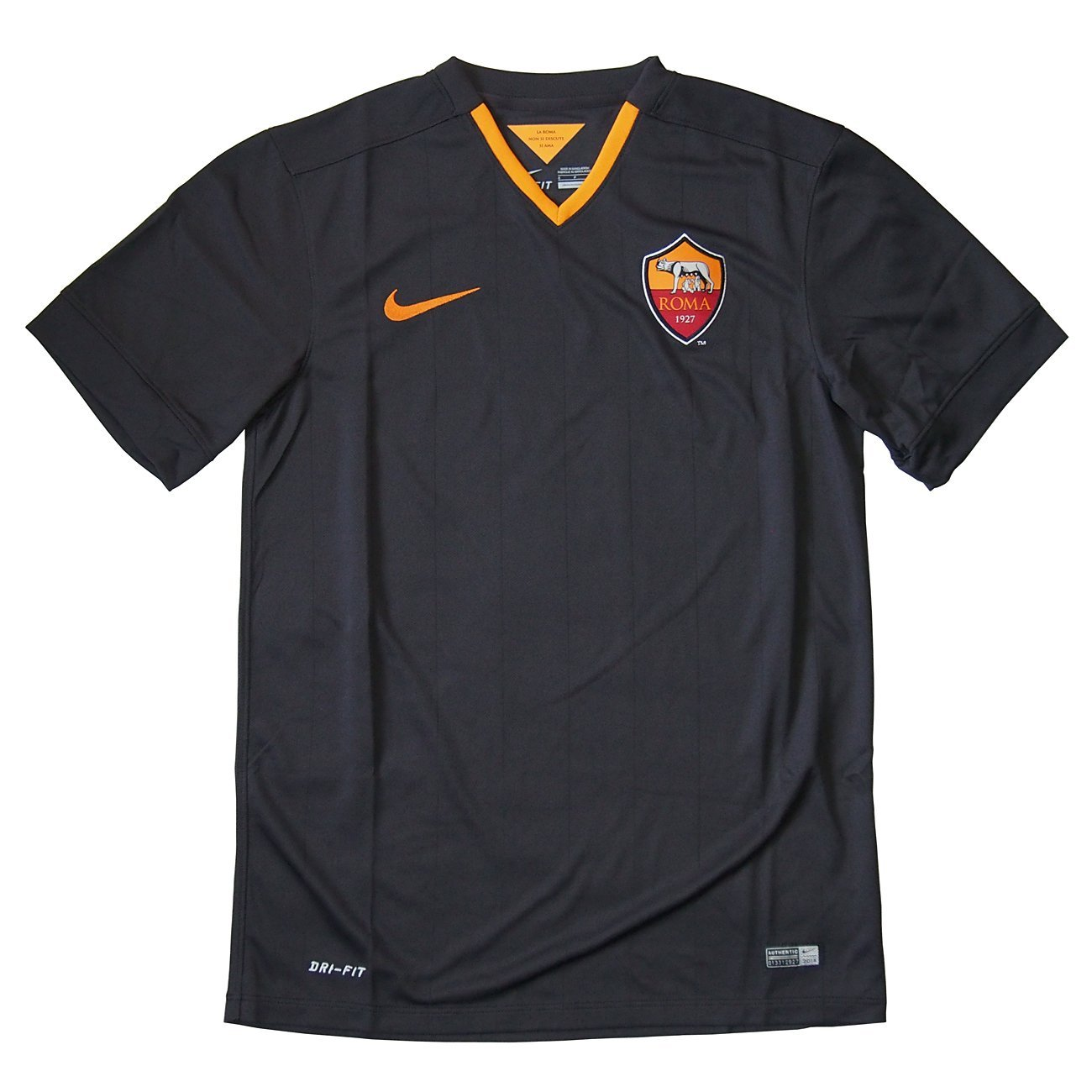 best loved 2a911 b3bd0 2014-2015 AS Roma Third Nike Football Shirt