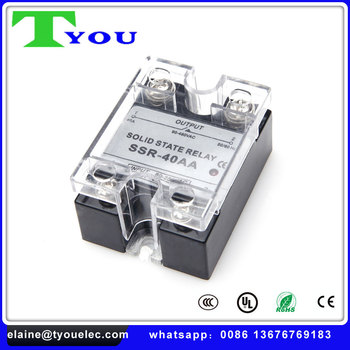 Ssr 120a 200a Dc Ac 24380v Solid State Relay For Pid Temperature