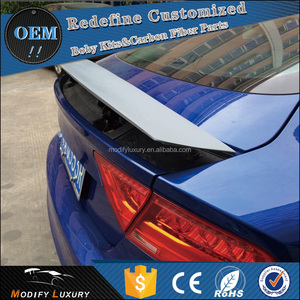 Modify Luxury OEM FRP Trunk Wing spoiler for AUDI A7 S7 RS7 2010-2014