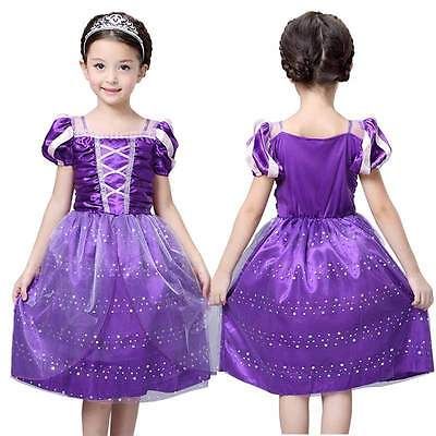 2016 Girls Rapunzel font b Fancy b font font b Dress b font Costume Wedding font