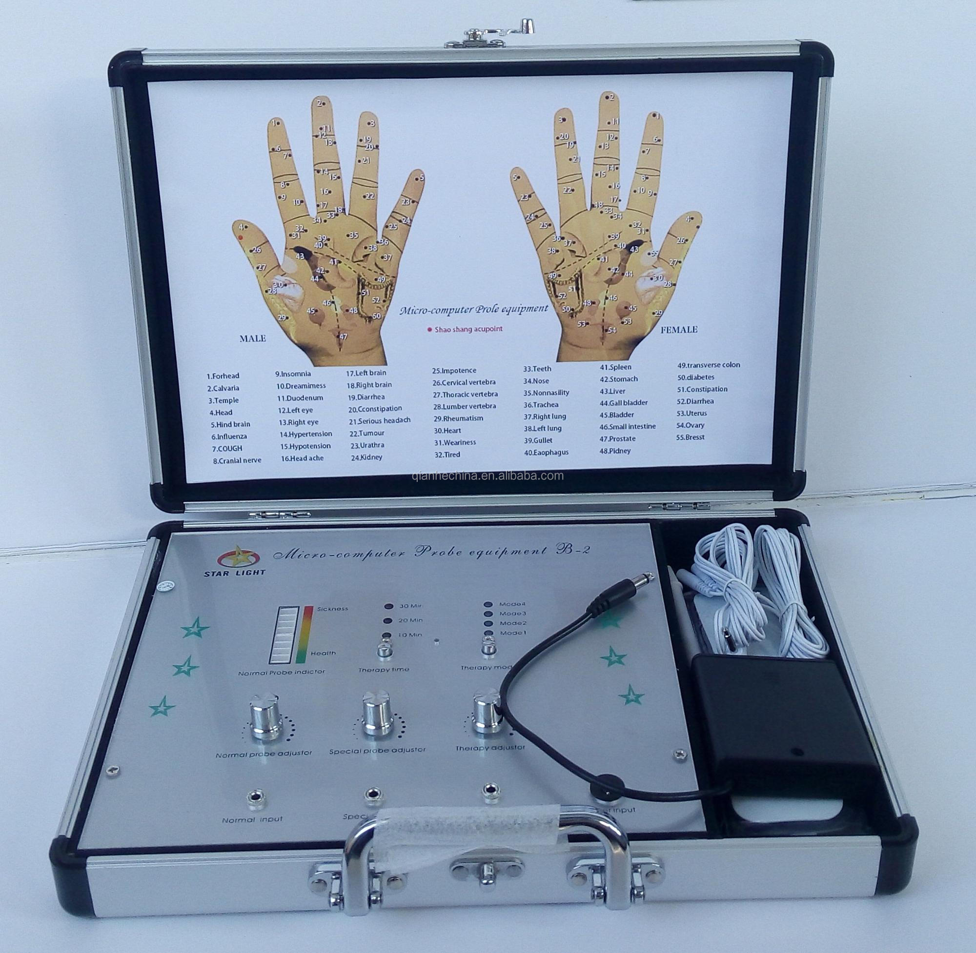 Hand diagnose therapie apparaat/acupunctuur diagnose machine