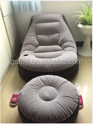PVC Leisure Inflatable Sofa with stool
