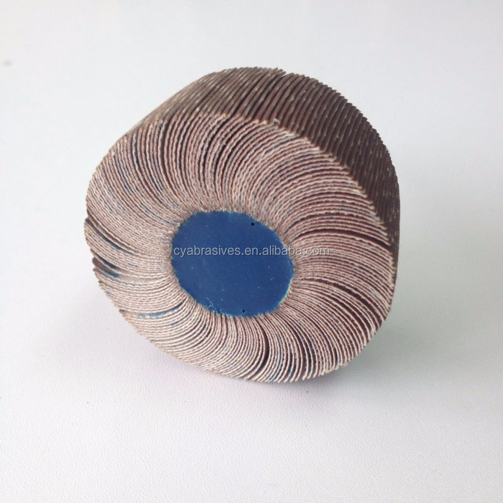 durable zirconium sanding abrasive flap wheel polishing metal