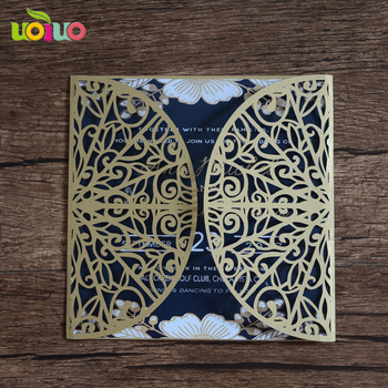 Different Design Cheap Laser Cut Handmade Happy Birthday Cards