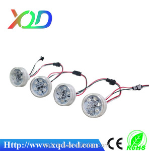 waterproof led lighting 48mm 6leds pixel light for amusement rides