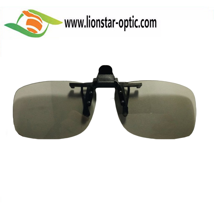 Fashionable and Stylish Clip On Type Passive Circular Polarized 3D Glasses Clip