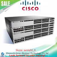 Made in China Cisco Catalyst 3850 24 Port Network Switches WS-C3850-24P-L