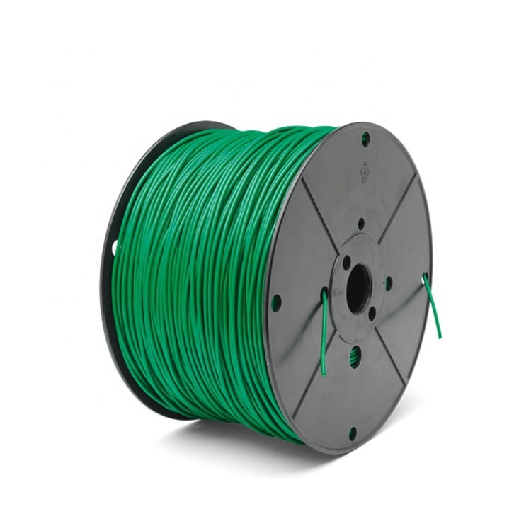 Promotions!!! Green Boundary <strong>Wire</strong> 3.8mm Robots Lawn Mower Cable Perimeter <strong>Wire</strong> Reinforced Cable for Robot Lawn Mower