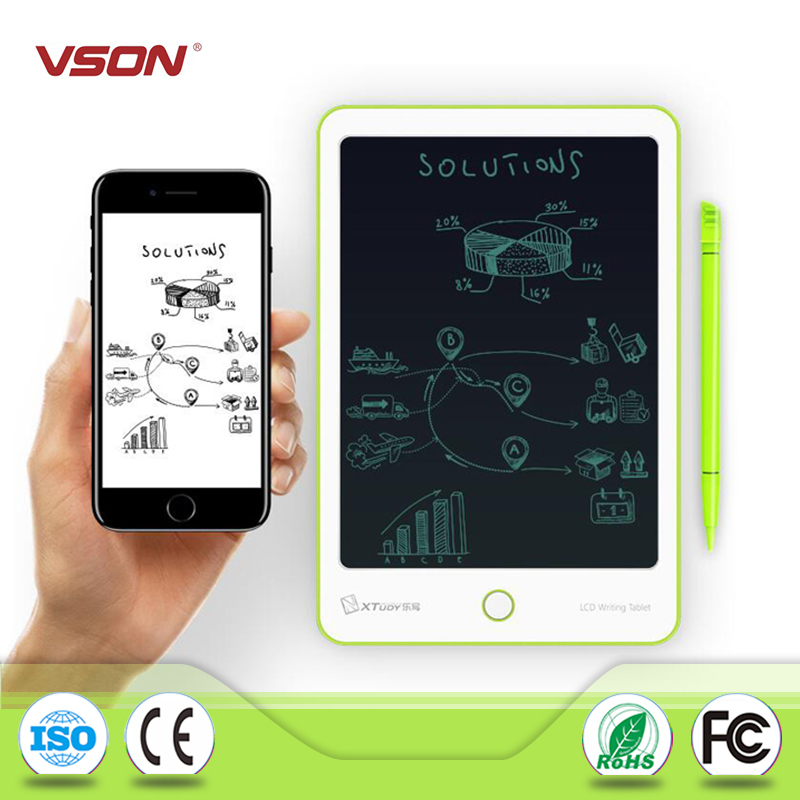 VSON 9Inch LCD Digital Drawing /& Writing Tablet Handwriting Pads E-Note Paperles