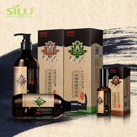 Private label best sulfate free nourishing natural hotel black hair herbal shampoo for dry hair
