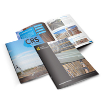Glossy and matte lamination custom catalogue/leaflet/brochure printing