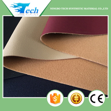 Embossed pu upper leather cover material