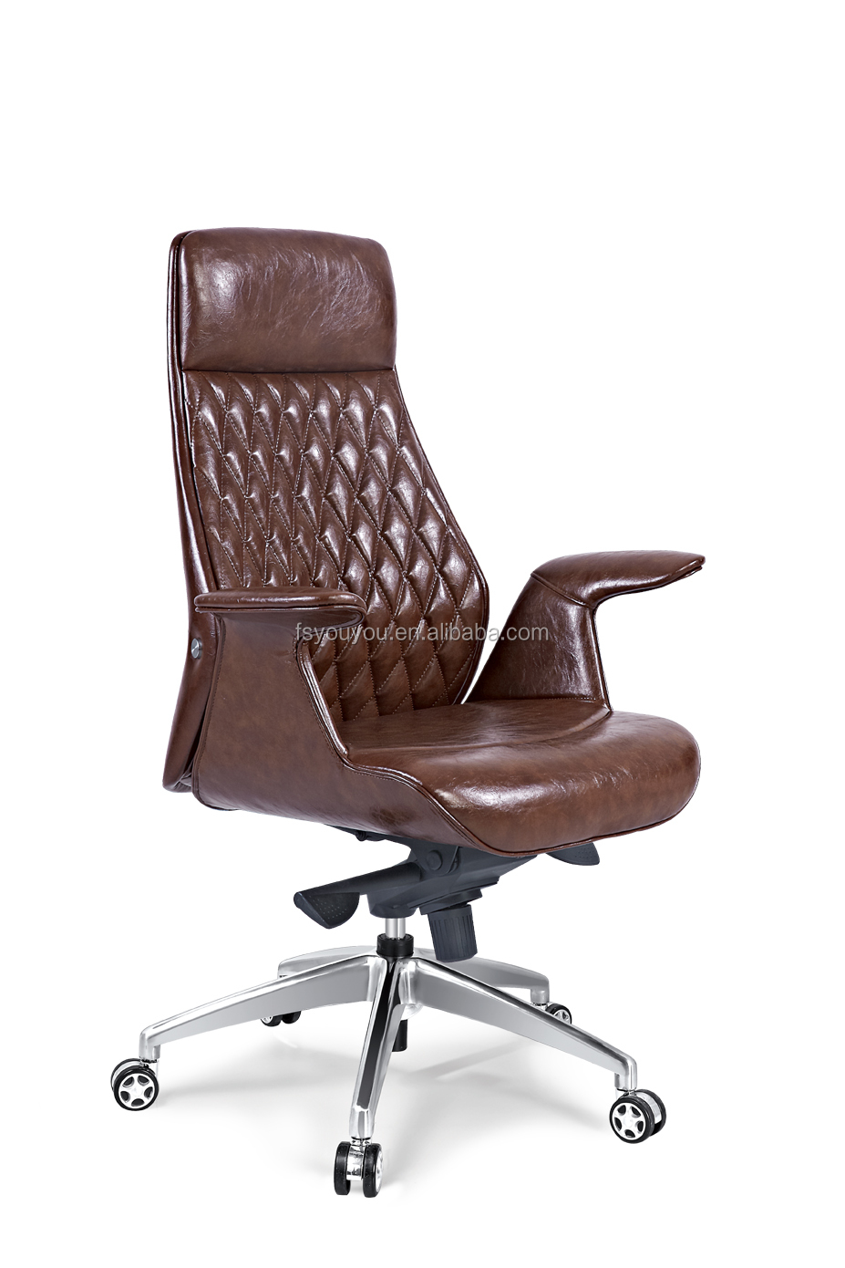 Green Mesh Brown Office Chair True Seating Concepts Leather Executive Jpg 927x1390