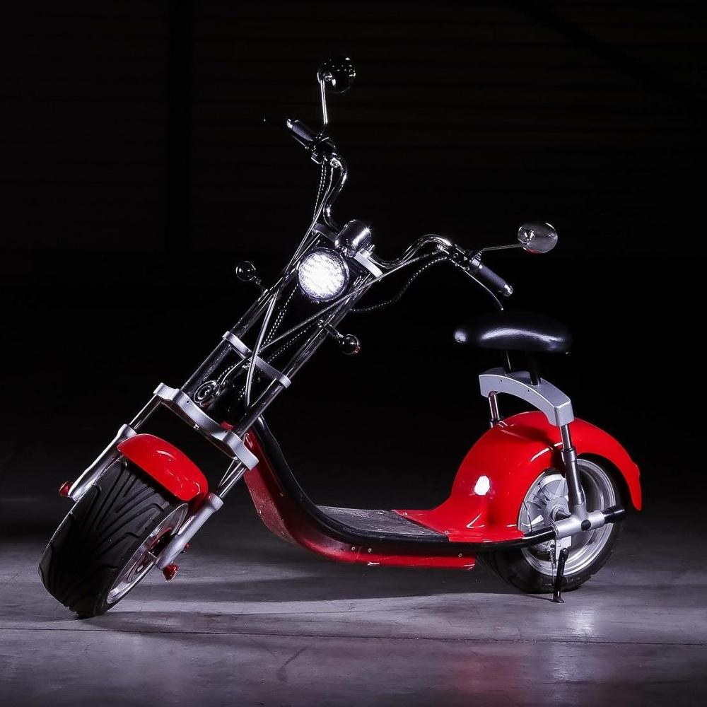 2018 Best Selling Scrooser citycoco 2000w E-scooter With CE Certificated with cheaper price, Golden;blue;red;black or customized