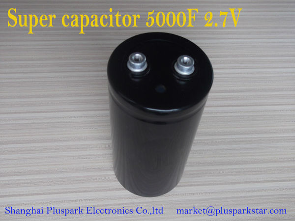 UltraCapacitor 5000F 2.7V, Supercapacitor , Screw terminal, Electric double layer capacitor EDLC