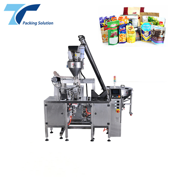 Mini Automatic Powder Pouch Doy Fill Seal Packaging Machine for doypack bag
