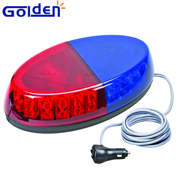 12v 360 degree red blue car roof low profile magnetic mount led 12v 360 degree red blue car roof low profile magnetic mount led police mini lightbar for aloadofball Images