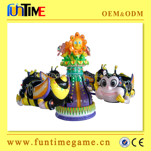 Cute indoor amusement rides / shaking machine coin game operated amusement park