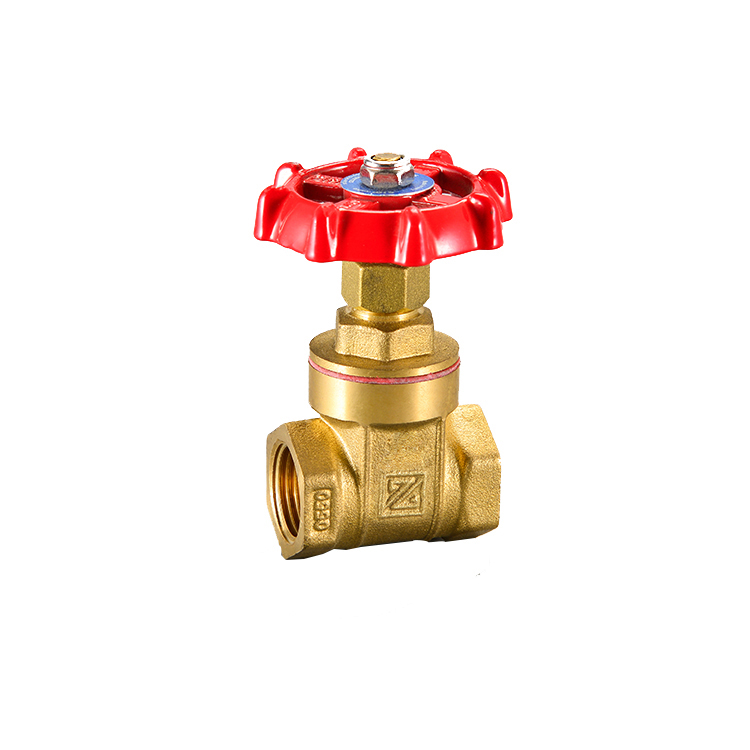 New design stem Brass gate valve