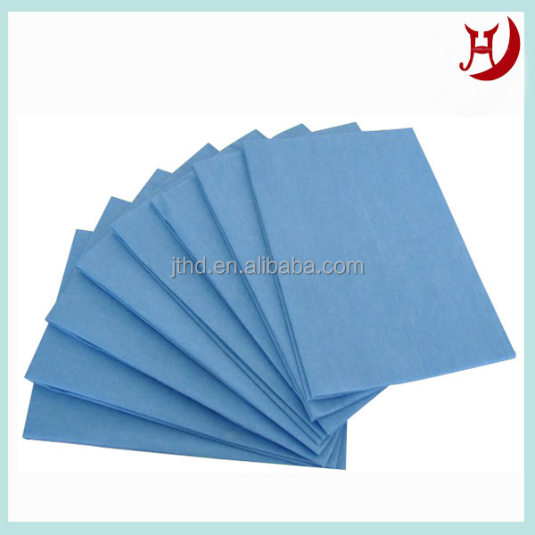 Half cross lapping Aramid spunlace nonwoven fabric for producing fire suit