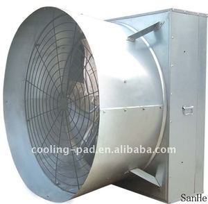horn cone exhaust fan with CE certificate for poultry/industry/greenhouse