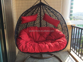 Charmant Hot Sale Two Seat Rattan Hanging Basket Swing Chair   Buy Rattan Swing  Chair,Basket Swing Chair,Two Seat Swing Chair Product On Alibaba.com