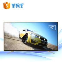 Factory Supply Narrow Border Flat-Screen Smart LED TV