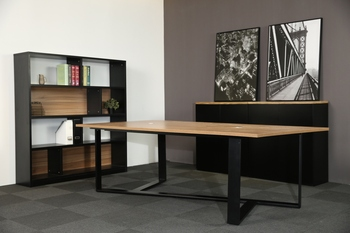 New Modern Office Furniture Conference Table Mfc Long Meeting Table - Long meeting table