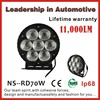 Wholesale 70w 9000lm new 70w car led tuning light led work light for offroad tanks motorcycle bike Agriculture vehicle