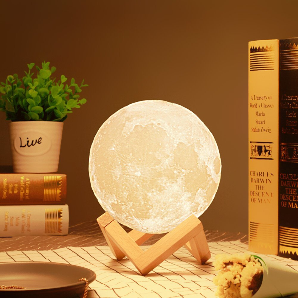 For kiDS sleeping USB LED Night led moon night light Dimmable Touch Control Motion sensor light
