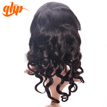 QHP Grade 5a unprocessed remy virgin human hair wig wholesale virgin brazilian hair